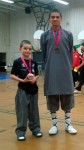 Zach and Nicolas after sparring