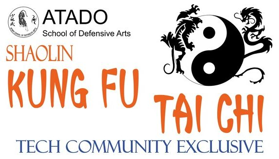 Tech Community Exclusive Offer for KungFu and Tai Chi programs at Atado School of Defensive Arts